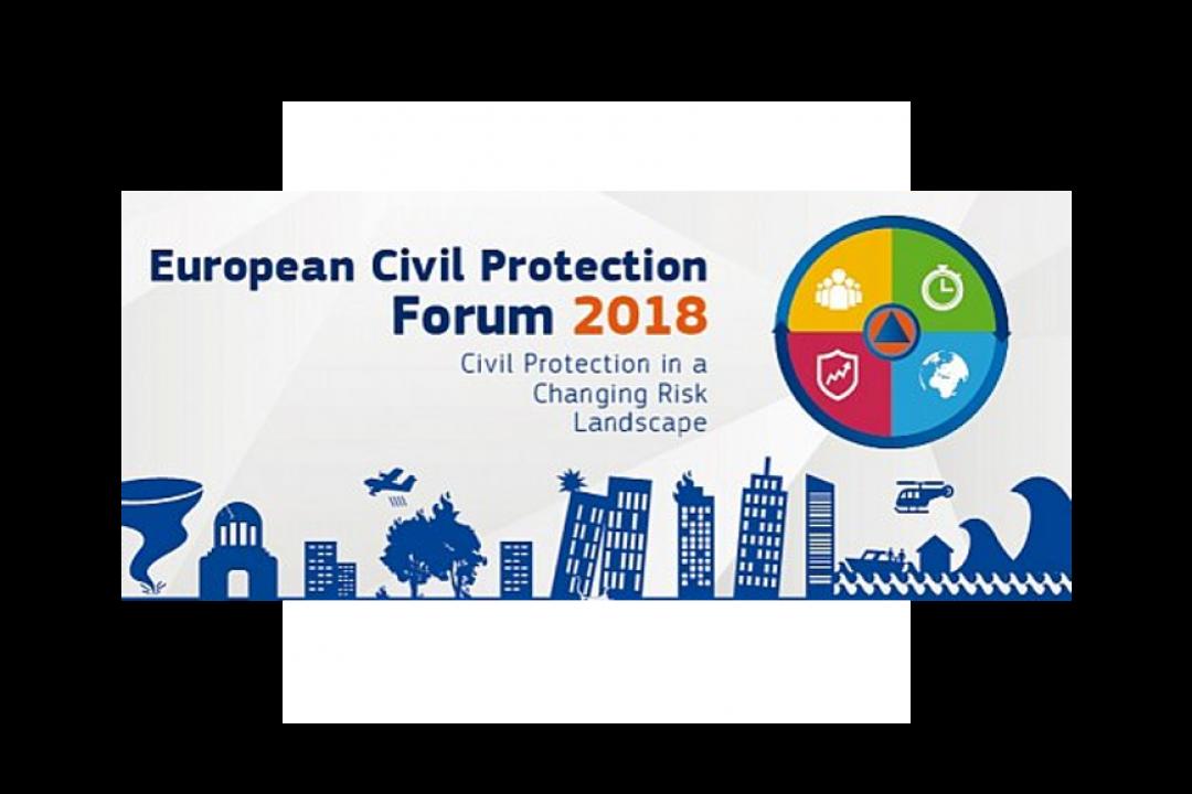 European Civil Protection Forum 2018 with EUSDR PA5contribution