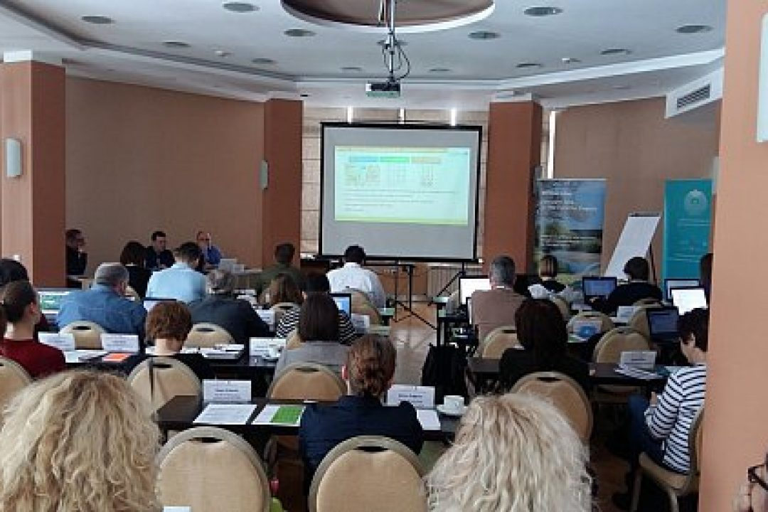 DriDanube project first year review and regional training on drought risk assessment