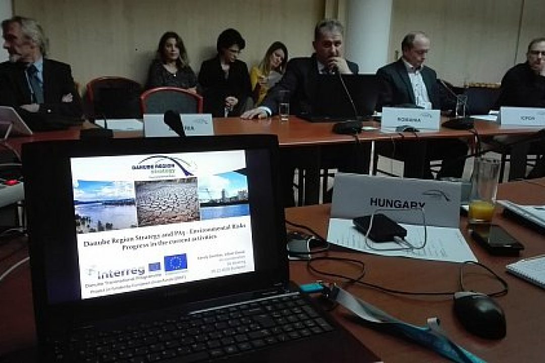 THE 14TH STEERING GROUP MEETING OF EUSDR ENVIRONMENTAL RISKS PRIORITY AREA