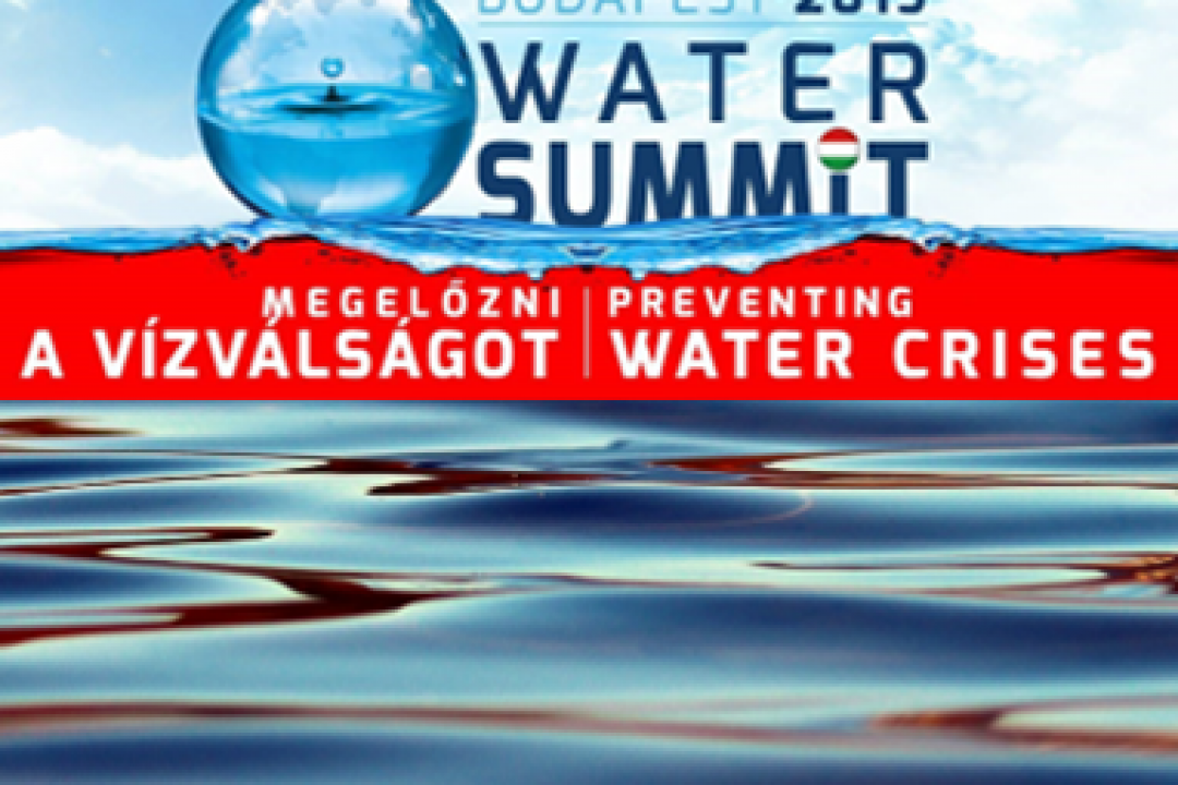 THE BUDAPEST WATER SUMMIT 2019, BWS 2019