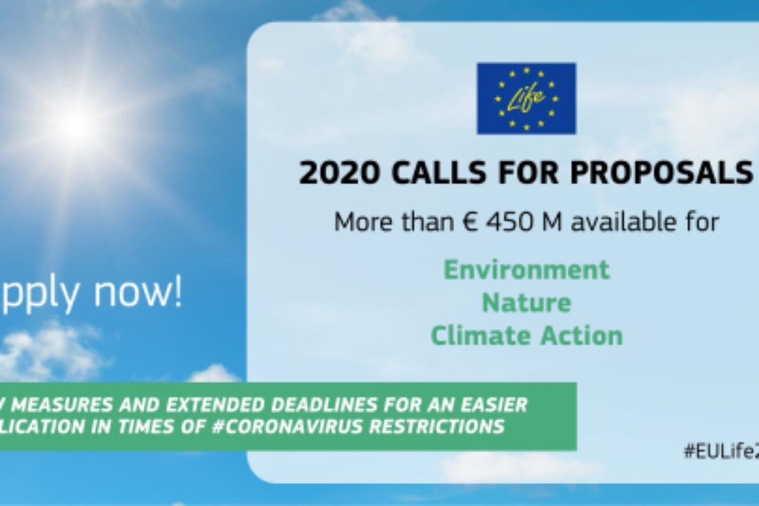 LIFE Programme 2020 Call
