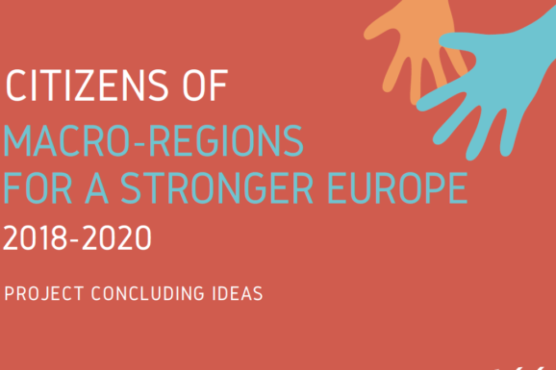 The 'Citizens of macro-regions for a stronger Europe' project