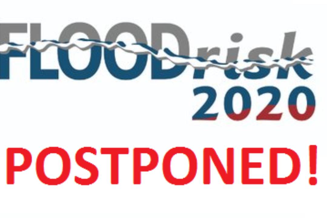 FLOODrisk2020 postponed