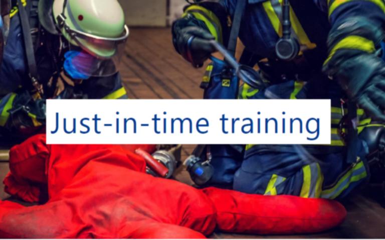Just in Time Training of Volunteers