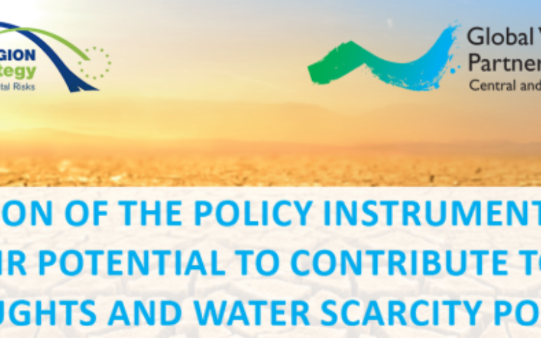 Revision of the EU policy instruments, related to drought and water scarcity mitigation