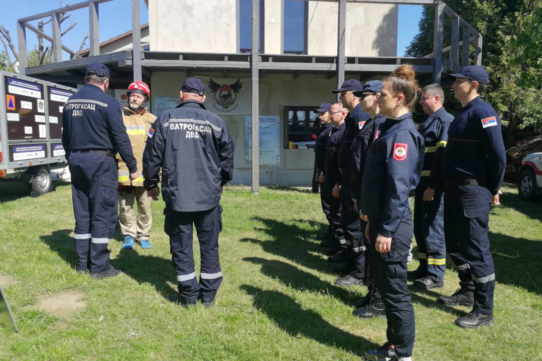PREP-R training in Kőröshegy at the training center of the Budapest Firefighters' Association