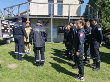 PREP-R training in Kőröshegy at the training center of the Budapest Firefighters' Association