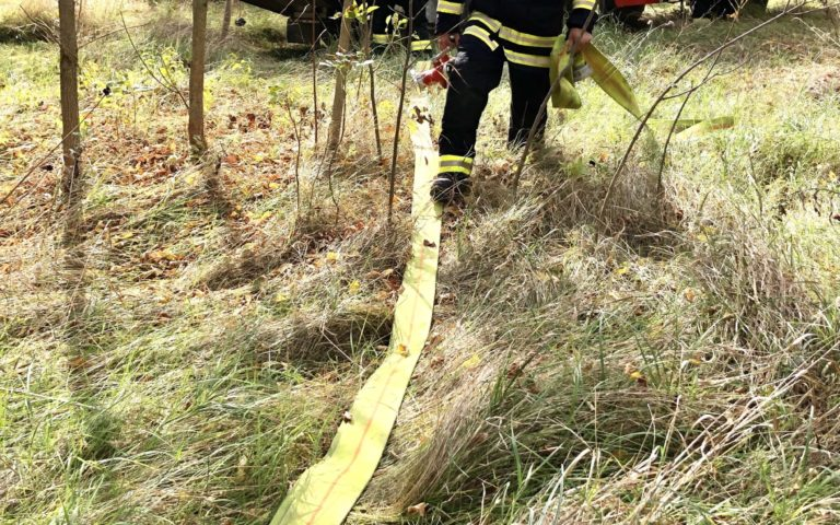 International firefighting exercise in Komarno district